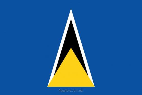 Купити прапор Сент-Люсії (країни Сент-Люсія)