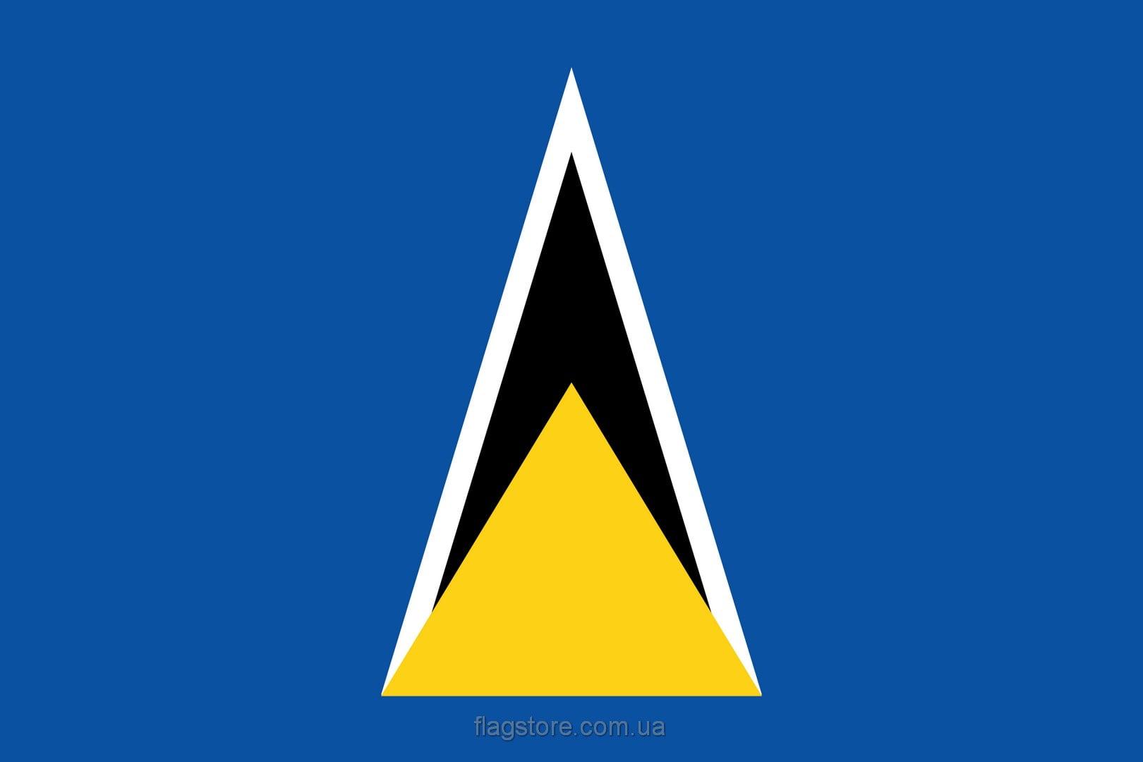 Купить флаг Сент-Люсии (страны Сент-Люсия)