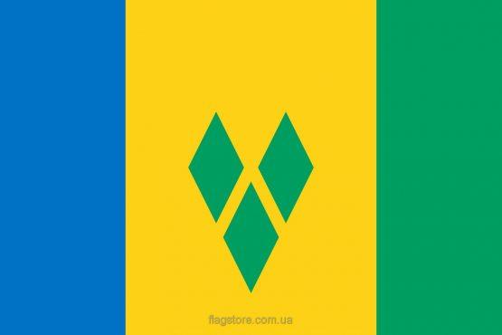 Купити прапор Сент-Вінсент і Гренадин (країни Сент-Вінсент і Гренадини)