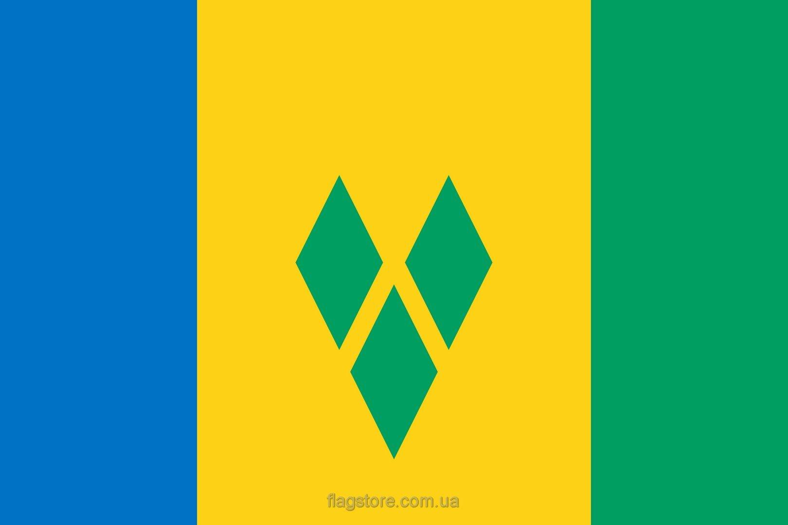 Купить флаг Сент-Винсента и Гренадин (страны Сент-Винсент и Гренадины)