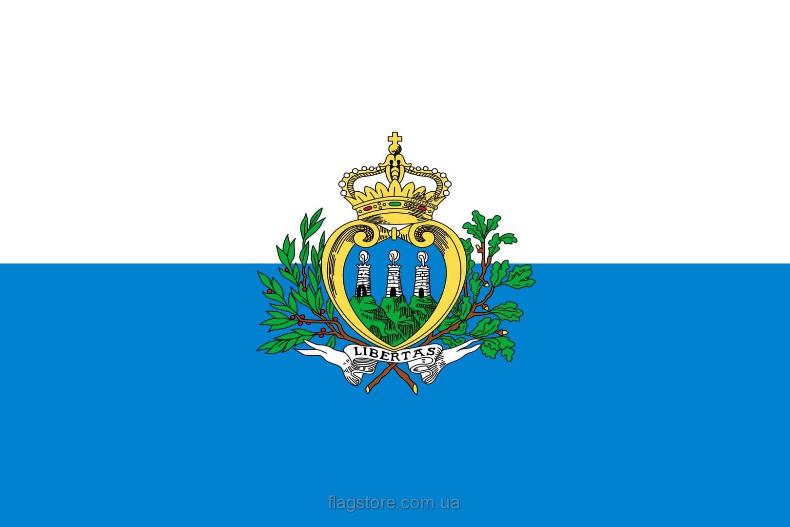 Купить флаг страны Сан-Марино