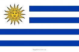 Купити прапор Уругваю (країни Уругвай)