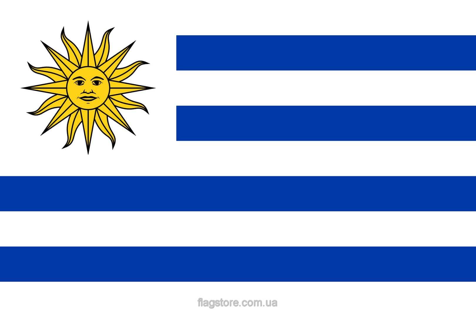 Купить флаг Уругвая (страны Уругвай)