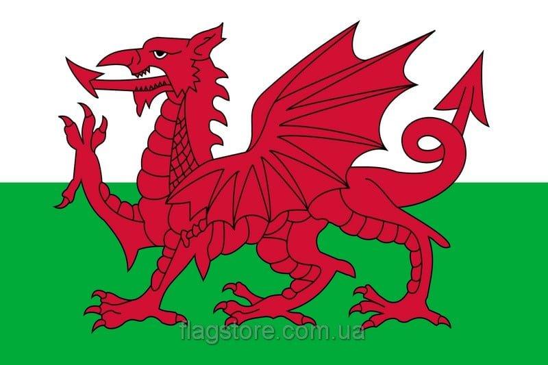 Купить флаг Уэльса (страны Уэльс)