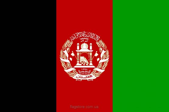 купити прапор Афганістану (країни Афганістан)