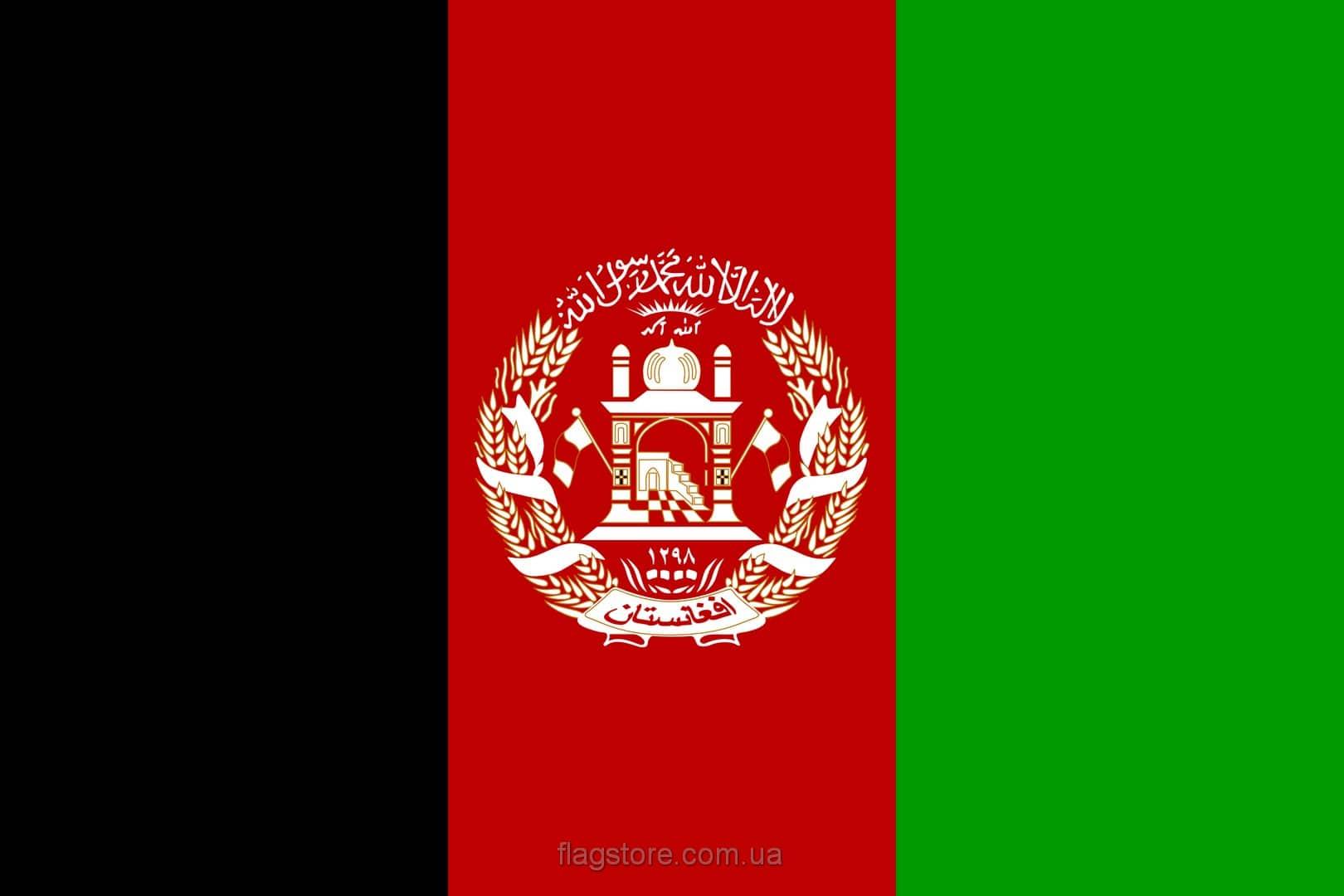 Купить флаг Афганистана (страны Афганистан)
