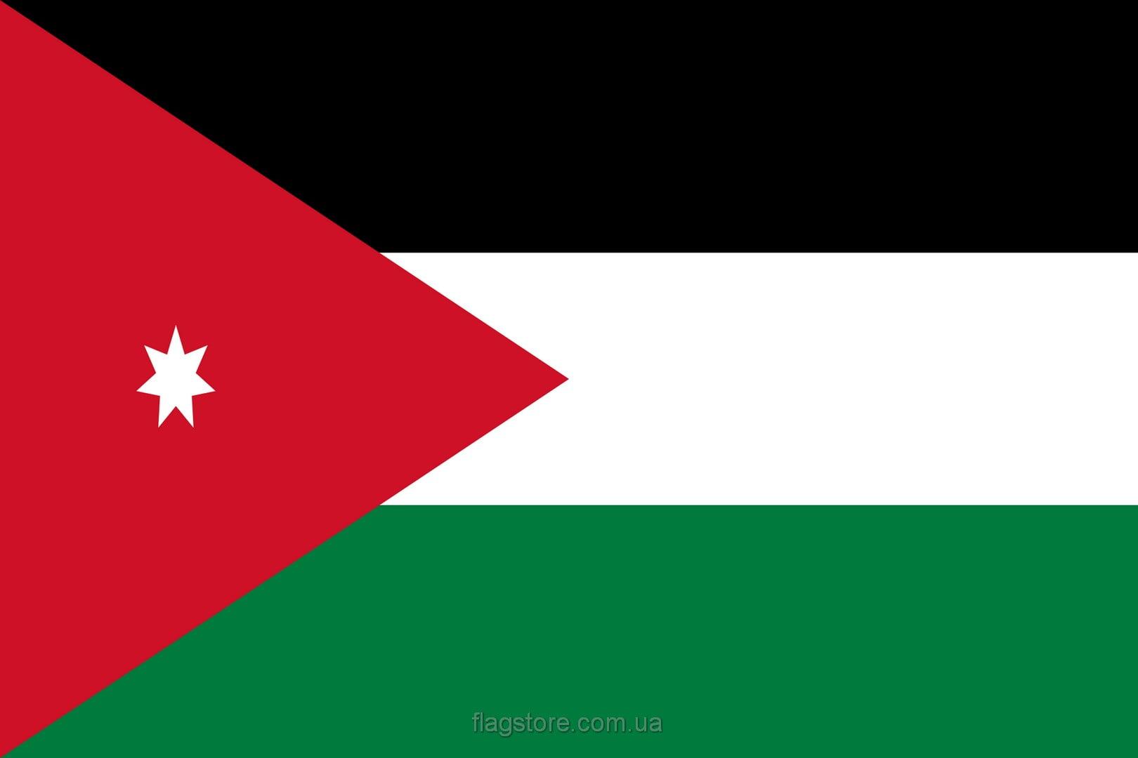 Купить флаг Иордании (страны Иордания)