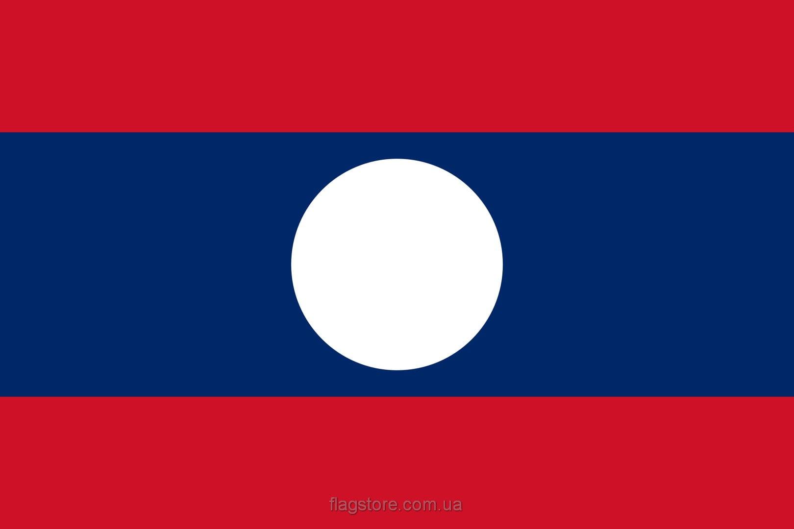 Купить флаг Лаоса (страны Лаос)