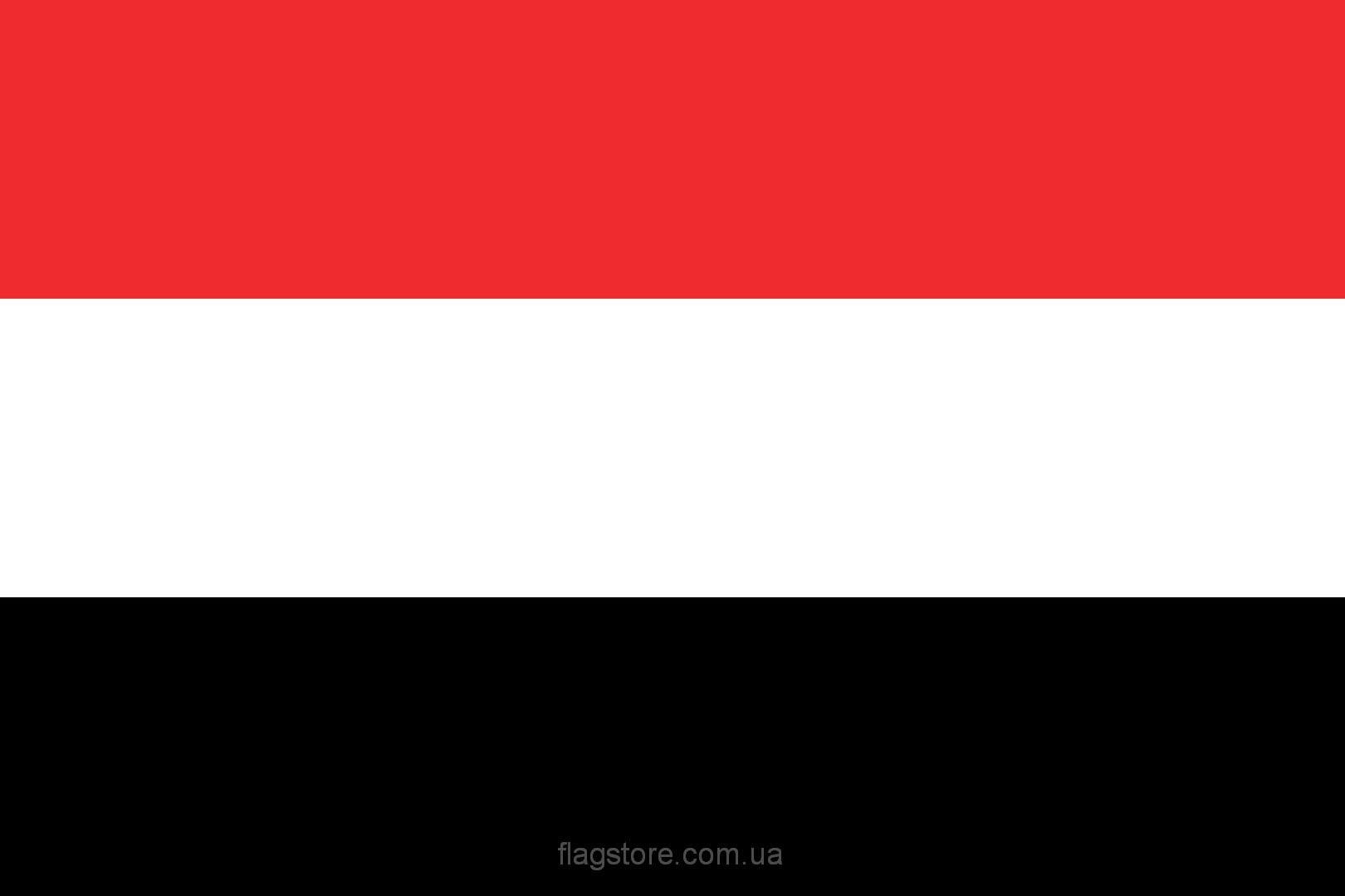 Купить флаг Йемена (страны Йемен)