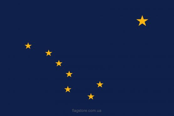 Купити прапор Аляски (штату Аляска)