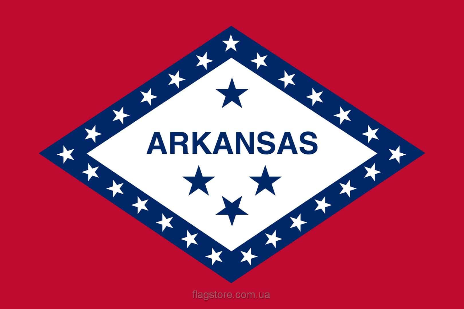 Купить флаг Арканзаса (штата Арканзас)