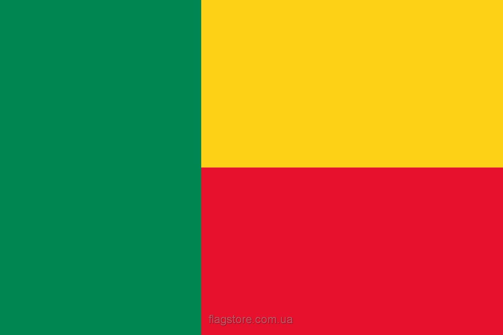Купить флаг Бенина (страны Бенин)