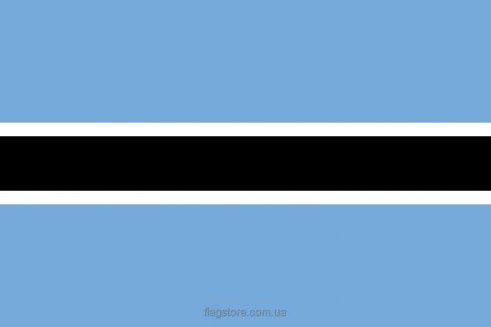 Купити прапор Ботсвани (країни Ботсвана)