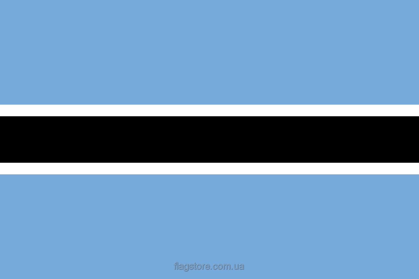 Купить флаг Ботсваны (страны Ботсвана)