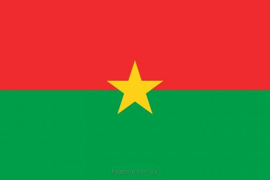 Купити прапор країни Буркіна-Фасо