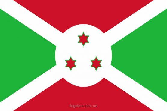 Купити прапор країни Бурунді