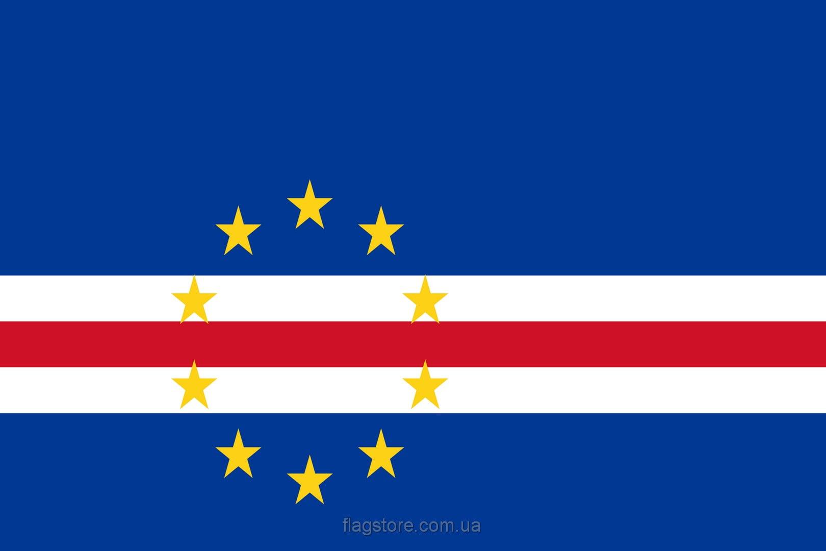 Купить флаг страны Кабо-Верде