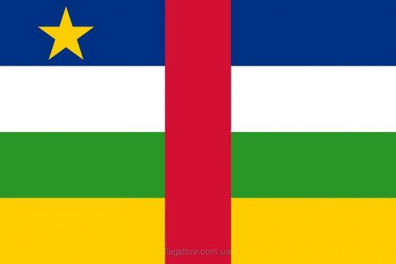Купити прапор ЦАР (країни Центральноафриканська Республіка)