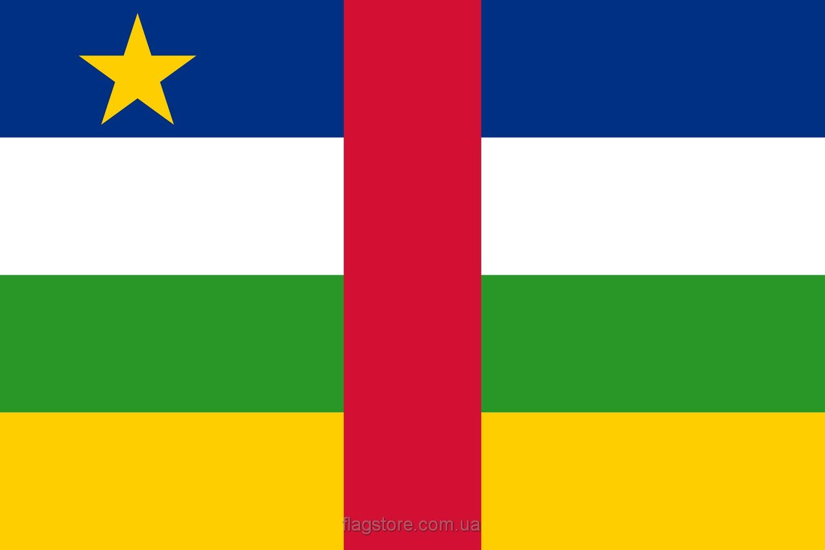 Купить флаг ЦАР  (страны Центральноафриканская Республика)
