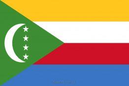 Купити прапор Коморських Островів (країни Коморські Острови)