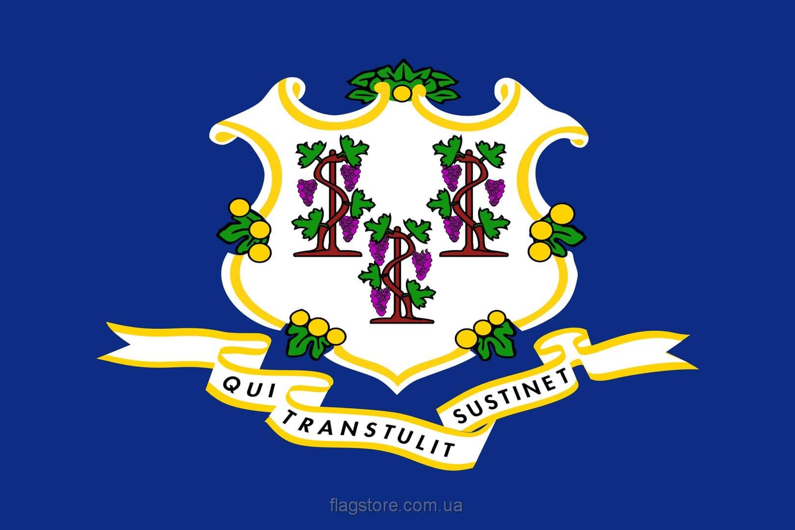 Купить флаг Коннектикута (штата Коннектикут)