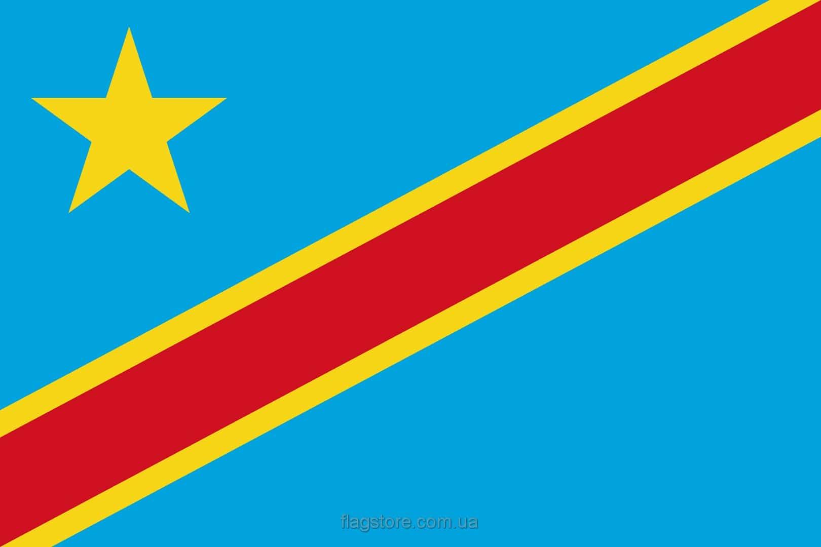 Купить флаг Демократической Республики Конго (страны Демократическая Республика Конго)