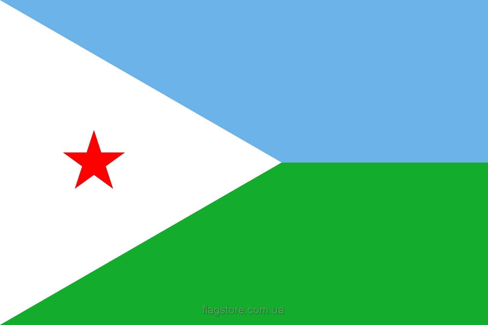 Купить флаг страны Джибути