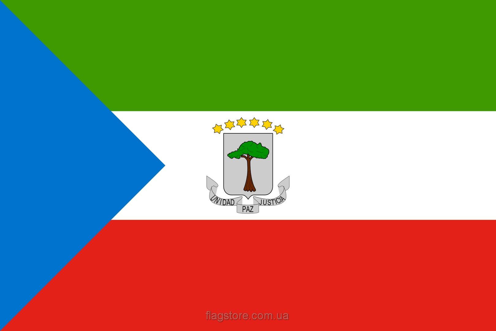 Купить флаг Экваториальной Гвинеи (страны Экваториальная Гвинея)