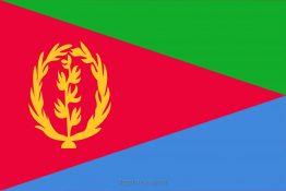 Купити прапор Еритреї (країни Еритрея)