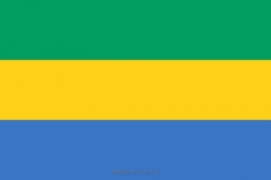 Купити прапор Габону (країни Габон)