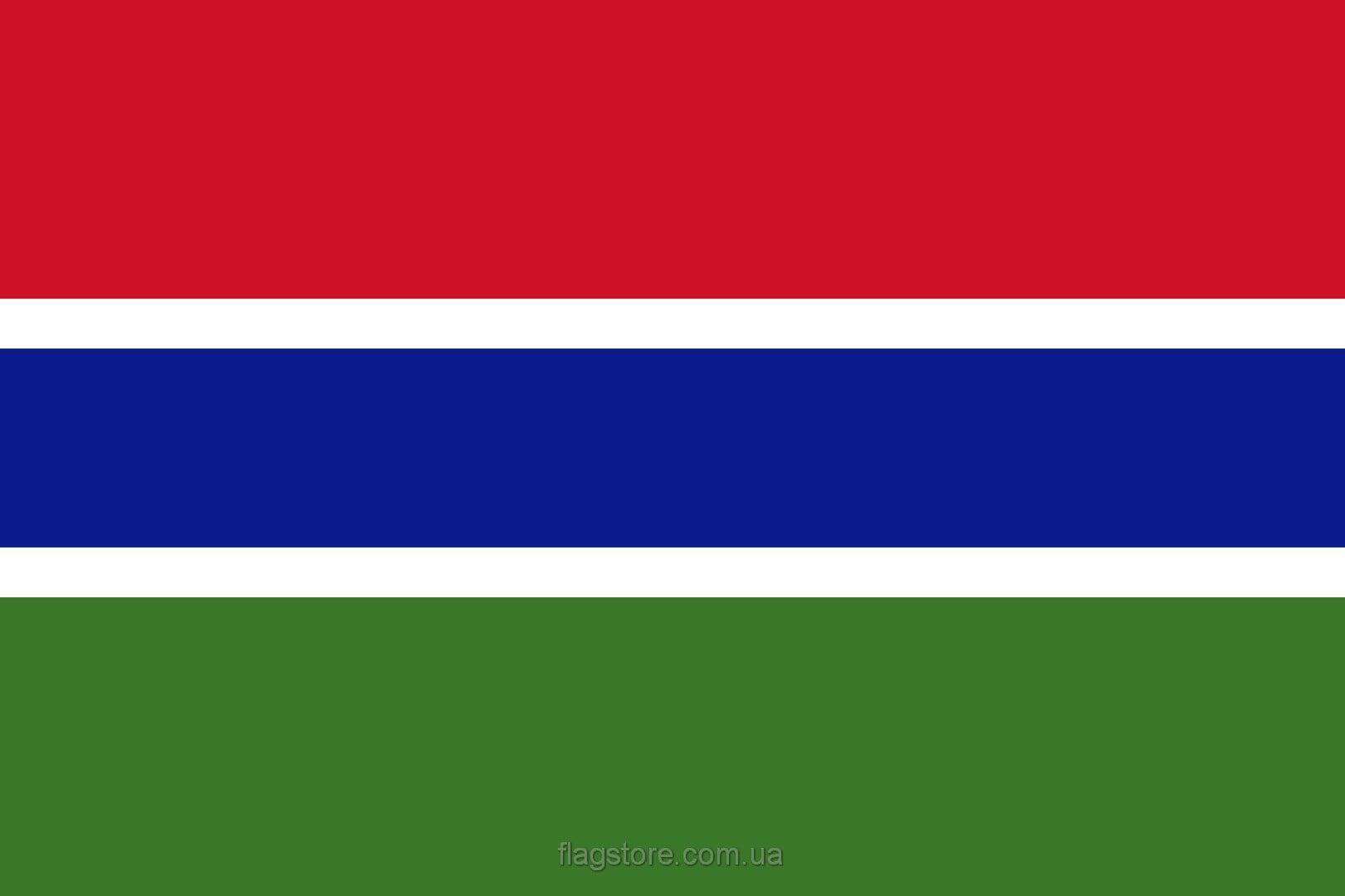Купить флаг Гамбии (страны Гамбия)