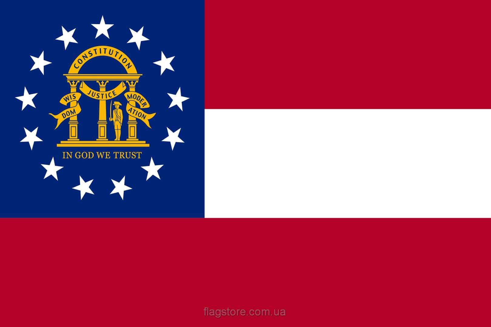 Купить флаг Джорджии (штата Джорджия)