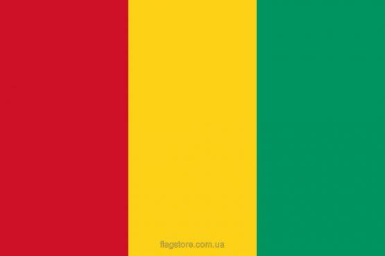 Купити прапор Гвінеї (країни Гвінея)