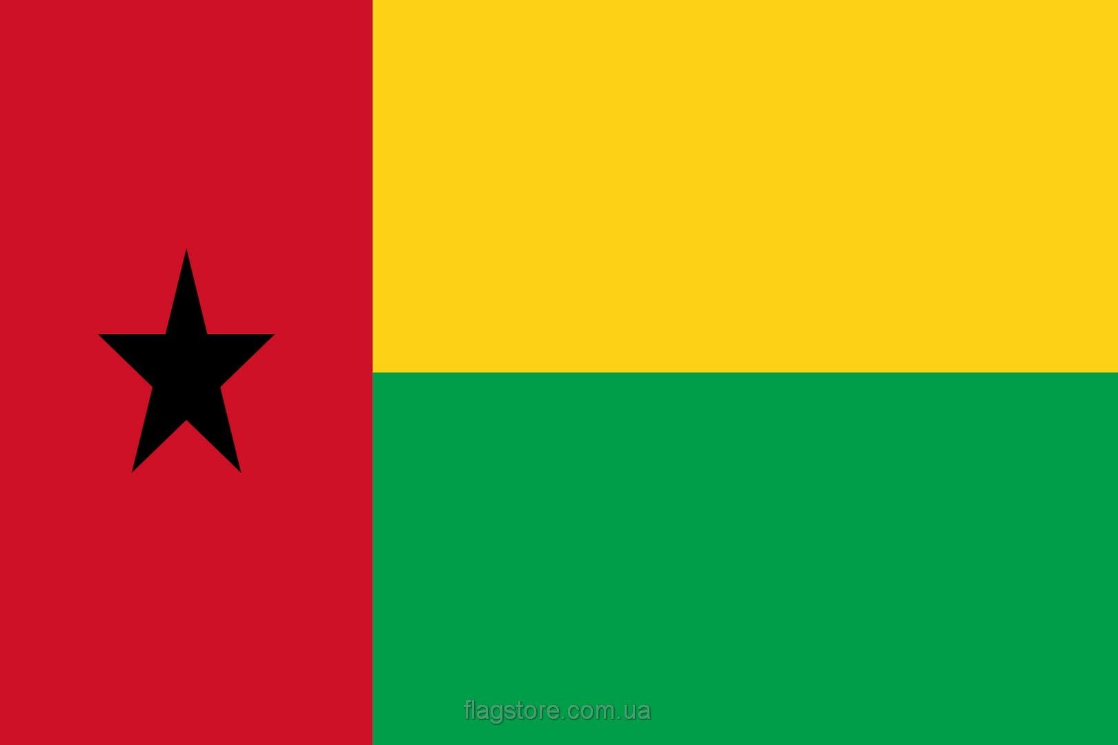 Купить флаг Гвинеи-Бисау (страны Гвинея-Бисау)