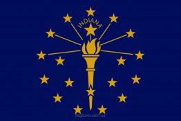 Купити прапор Індіани (штату Індіана)