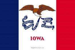 Купити прапор Айови (штату Айова)