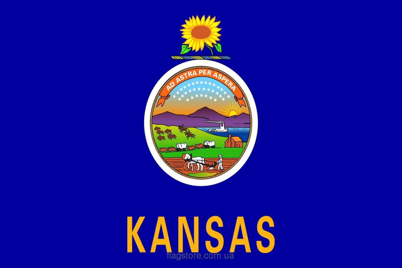 Купить флаг Канзаса (штата Канзас)