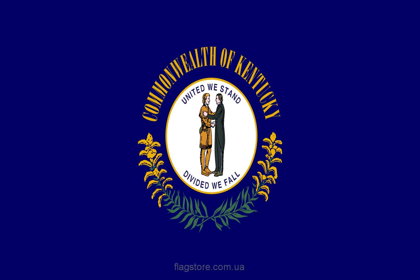 Купить флаг штата Кентукки