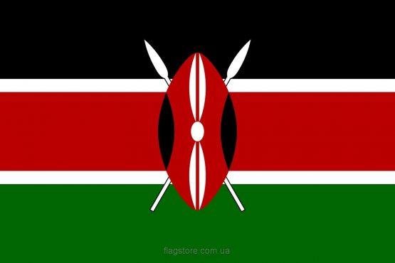 Купити прапор Кенії (країни Кенія)