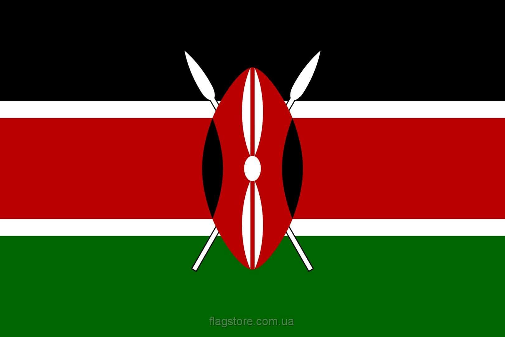 Купить флаг Кении (страны Кения)