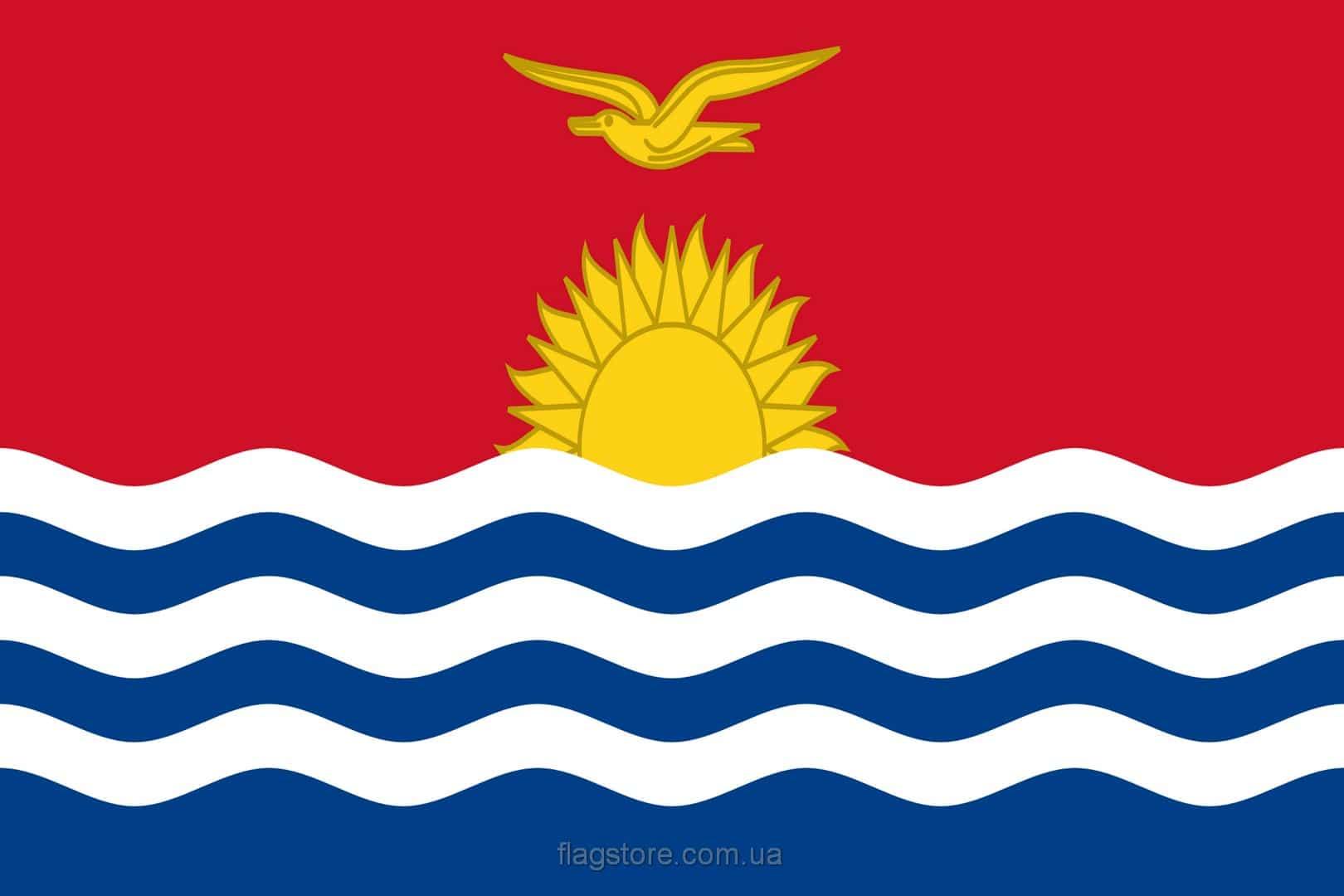 Купить флаг страны Кирибати