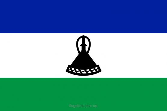 Купити прапор країни Лесото