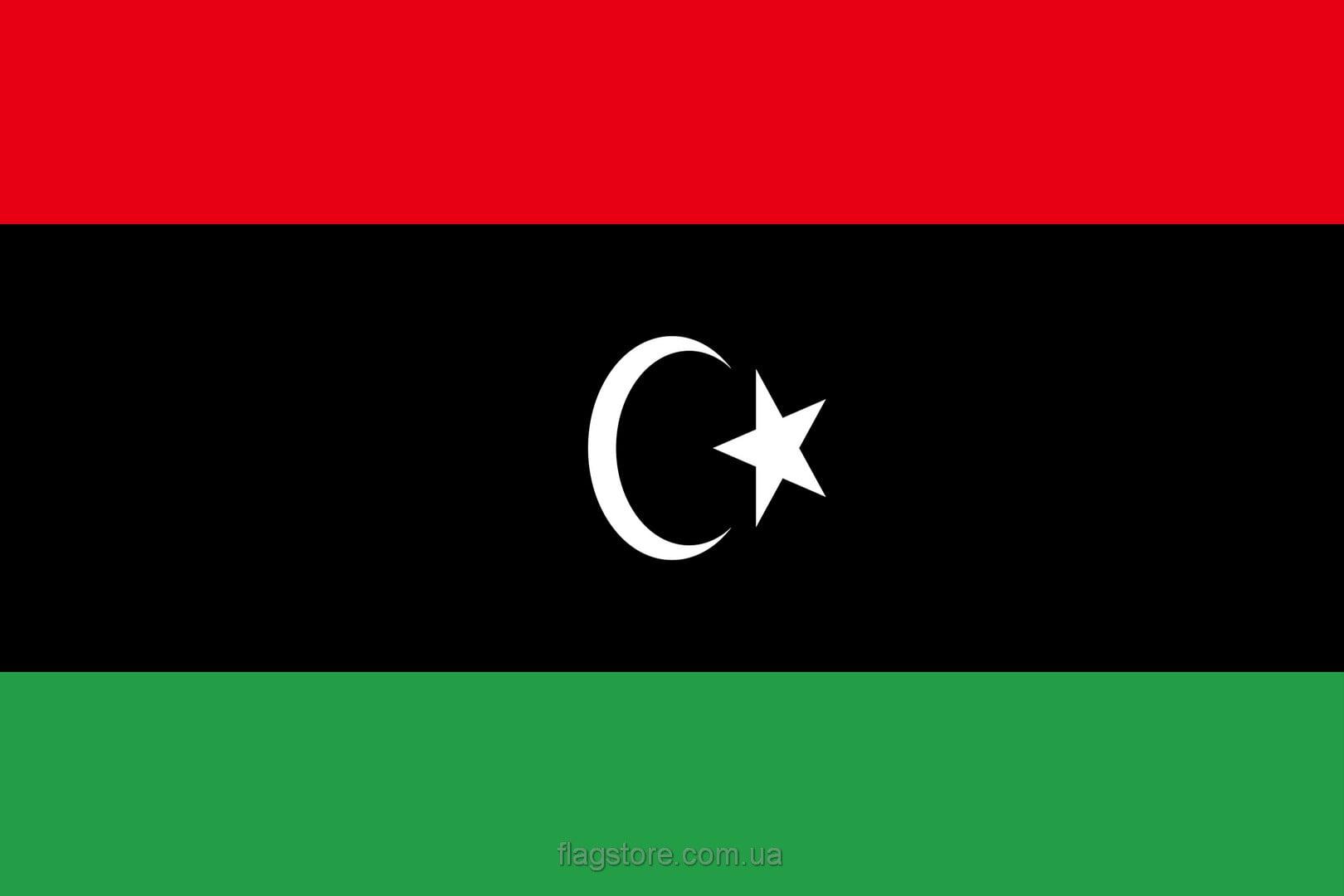 Купить флаг Ливии (страны Ливия)
