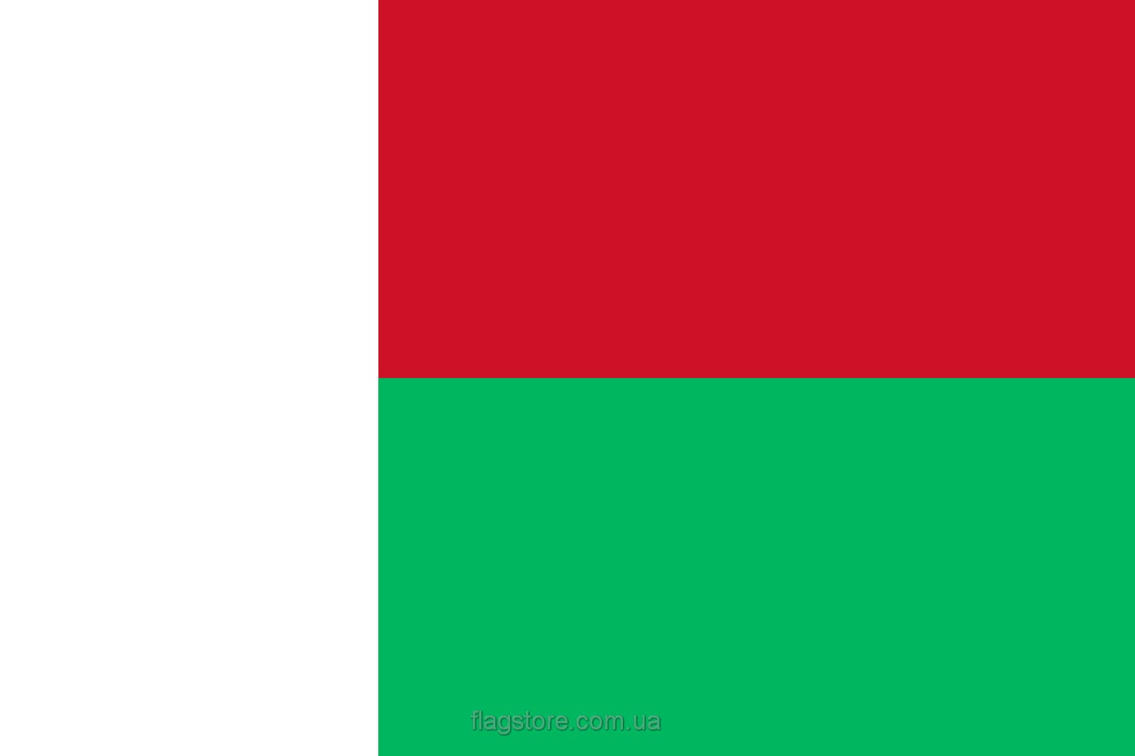 Купить флаг Мадагаскара (страны Мадагаскар)
