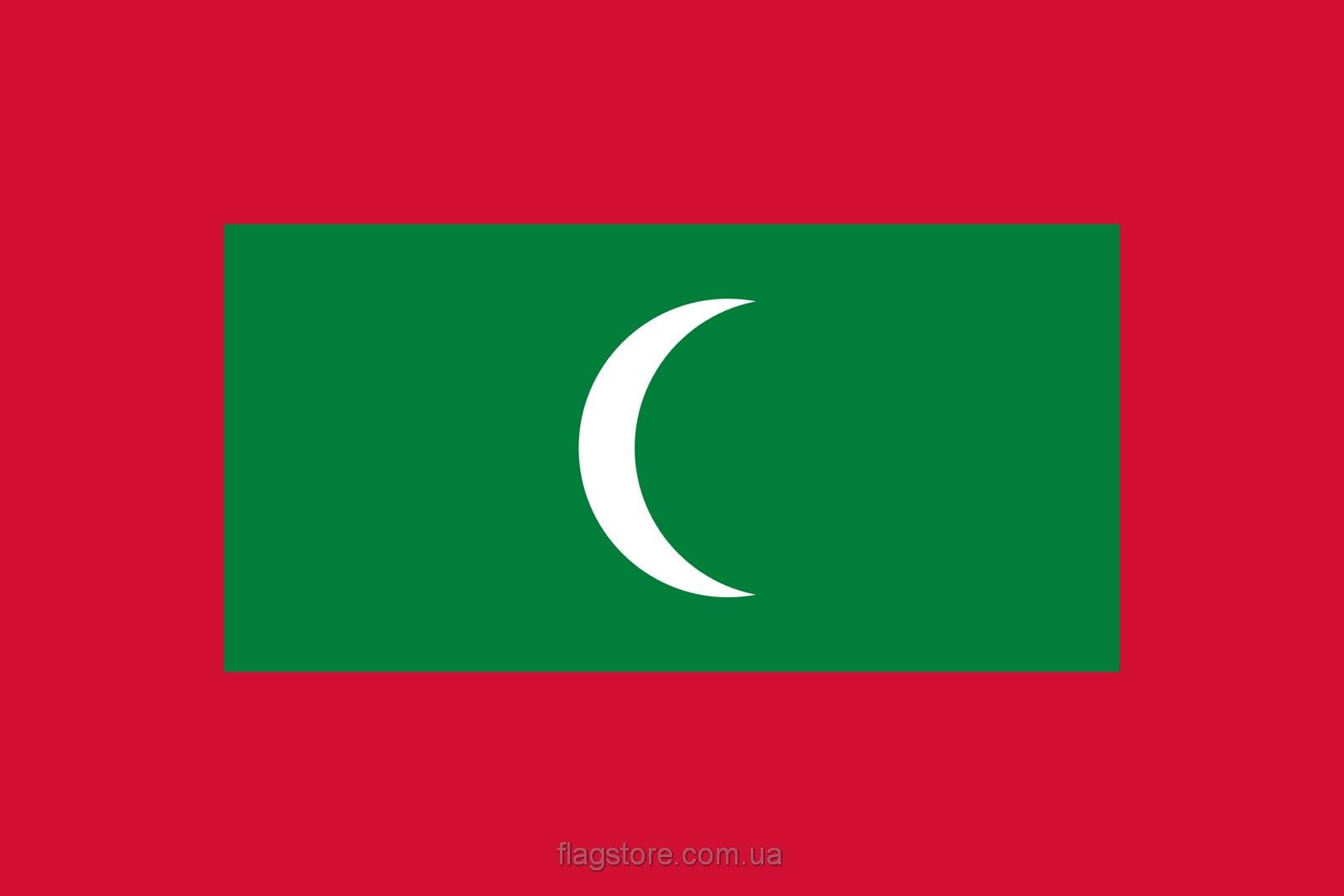 Купить флаг Мальдив (страны Мальдивы)