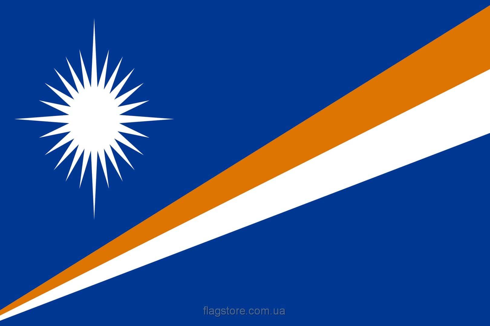 Купить флаг Маршалловых Островов (страны Маршалловы Острова)
