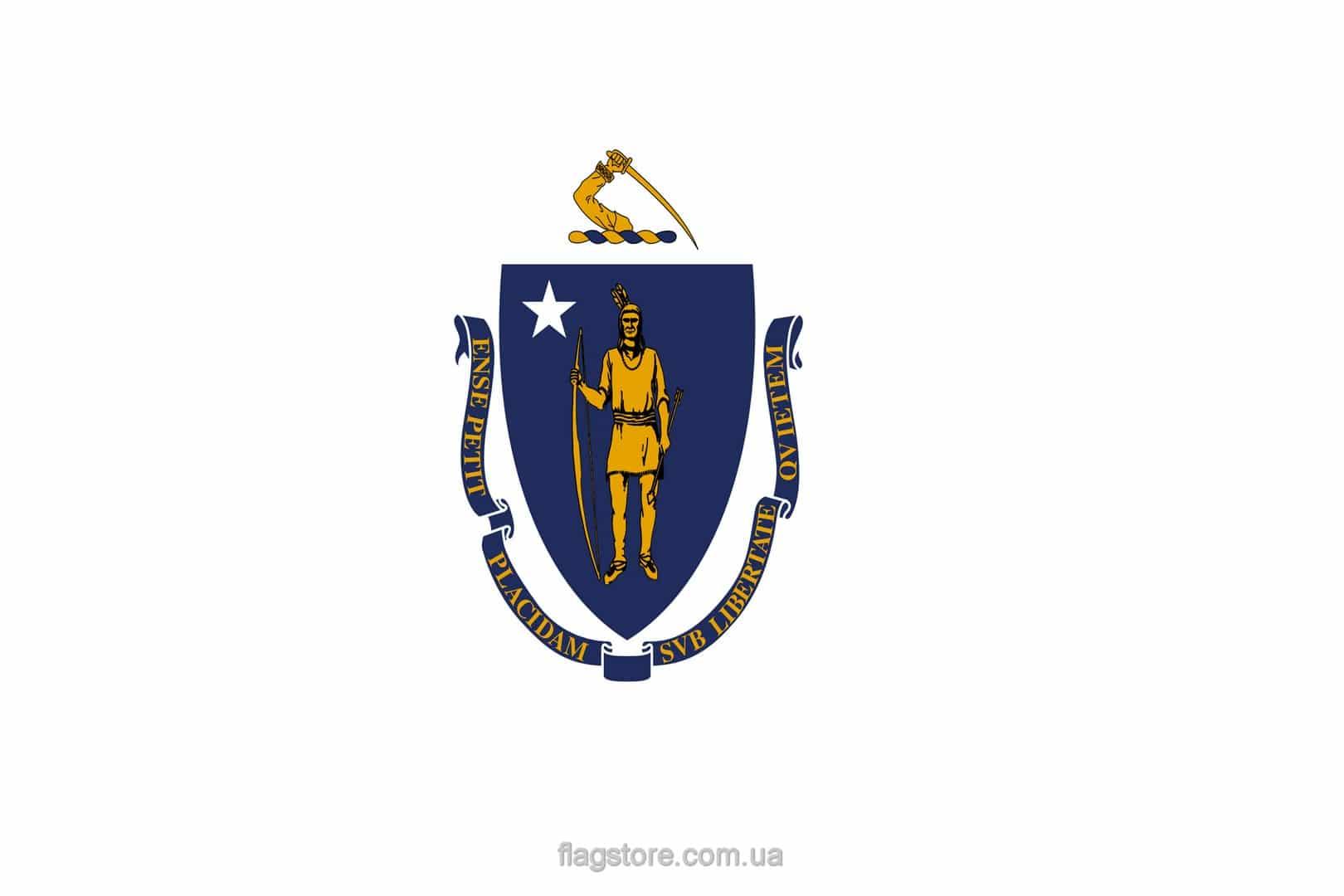 Купить флаг Массачусетса (штата Массачусетс)