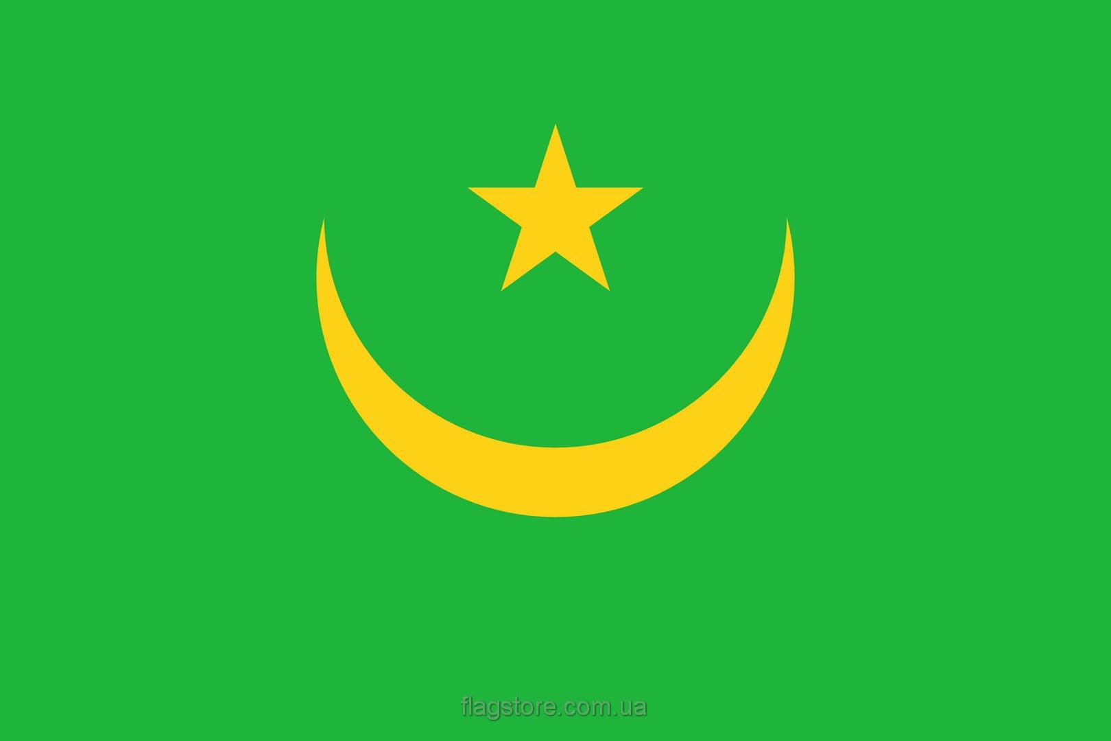Купить флаг Мавритании (страны Мавритания)