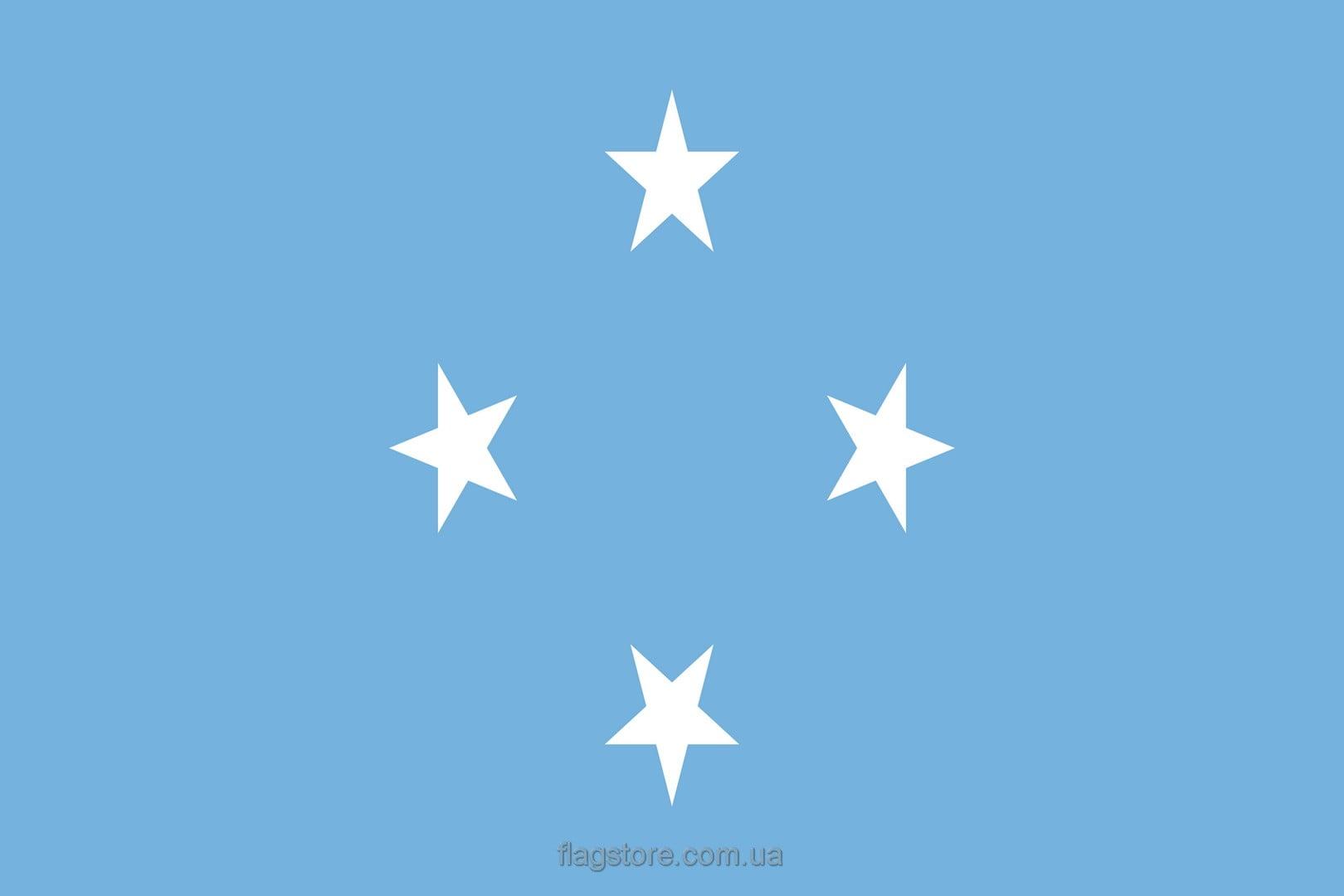 Купить флаг Федеративных Штатов Микронезии (страны Федеративные Штаты Микронезии)