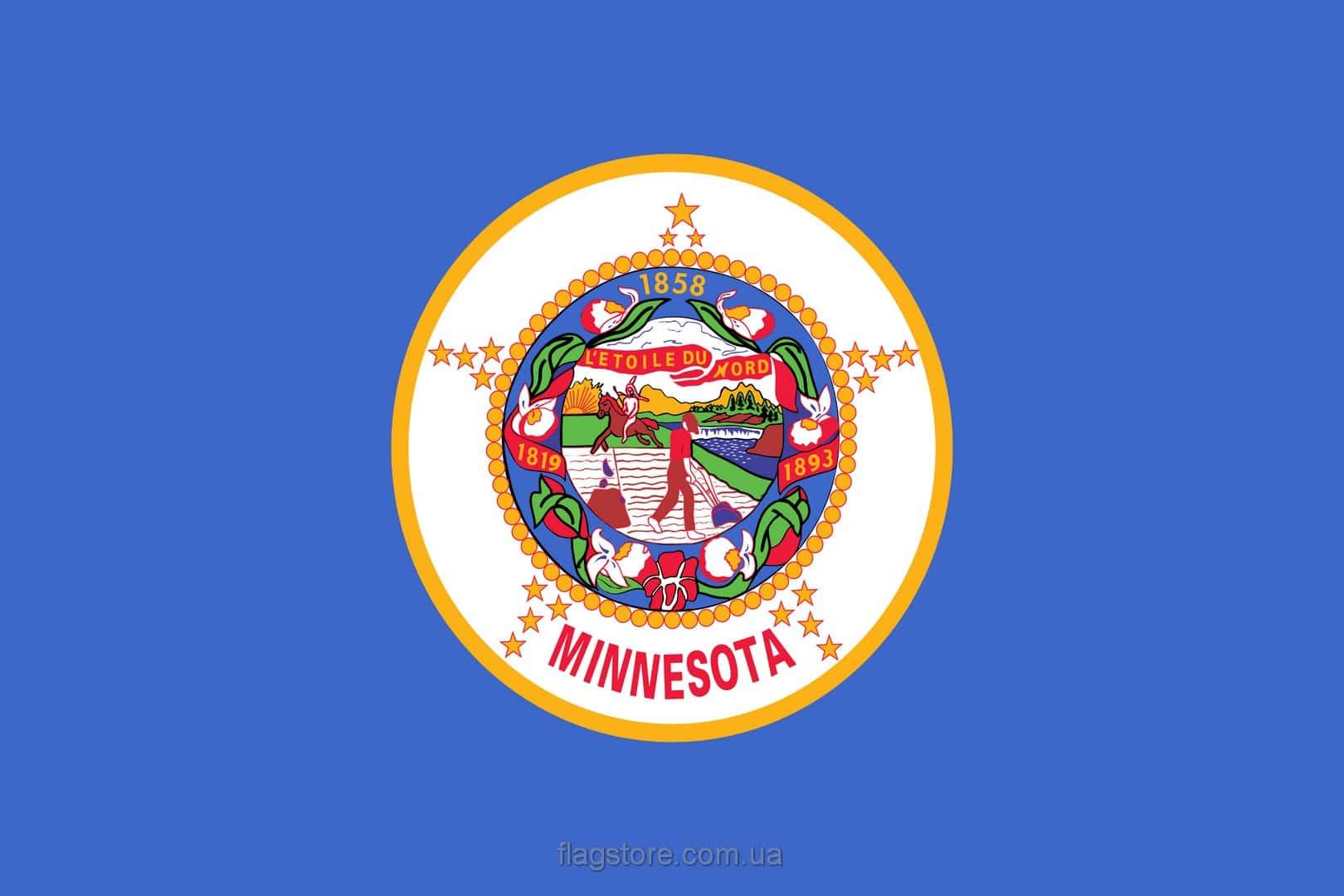 Купить флаг Миннесоты (штата Миннесота)